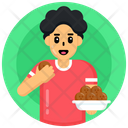 Eating Food Eating Meal Lunch Icon