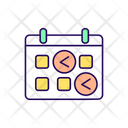 Eating Plan Schedule Check Icon
