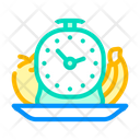 Eating Time Lunch Time Dinner Time Icon