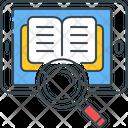 Ebook Knowledge Mobile Icon