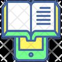 E Book Ebook Online Reading Book Icon
