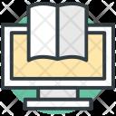 Ebook Elearning Modern Icon