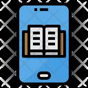 Ebook Book Smartphone Icon