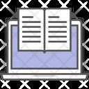 Digital Library Education Ebook Icon