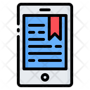 Ebook Book Mobile Icon