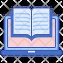 Ebook Online Book Book Icon