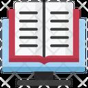 Ebook Education Online Education Icon
