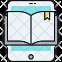 Ebook Smartphone Study Icon