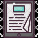 Digital Book Ebook Online Icon