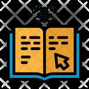 Ebook Study Electronic Icon