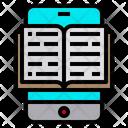 Ebook Reading Education Icon