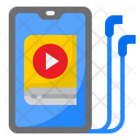 Smartphone Learning Ebook Icon