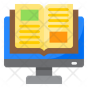 Ebook Book Learning Icon