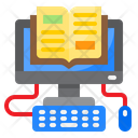 Computer Book Learning Icon