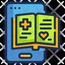 Ebook Online Medical Book Medical Icon