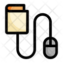 Mouse Education Book Icon