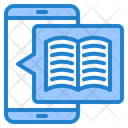 Ebook Education Online Learning Icon