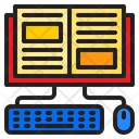 Ebook Online Learning Book Icon