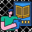 Ebook Digital Technology Icon