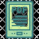Ebook Tablet Pdf Icon