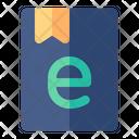 Ebook Education Digital Icon