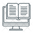 Ebook Online Library Library Online Library Icon