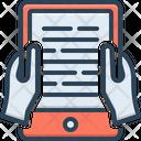 Ebook Reading Icon