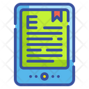 Ebooks Book Tablet Icon