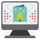 Ecard Christmas Day Icon