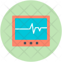Ecg Machine Electrocardiograph Icon