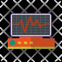 Ecg Machine Equipment Icon