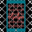 Analytics Diagram Ecg Icon