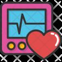 Ecg Heart Heartbeat Icon