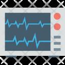 Ecg Machine Monitor Icon