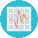 Ecg Screen Electrocardiogram Icon