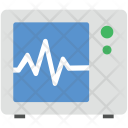Ecg Heartbeat Screen Icon