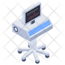 Cardiogram Ecg Ecg Monitor Icon