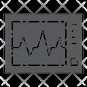 Ecg Machine Medicine Icon