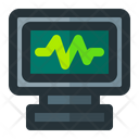 Ecg Monitor Rate Icon