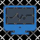 Medical Pulses Beats Icon