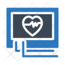 Monitor Cardiology Medical Icon