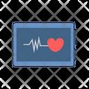 Ecg Electrocardiogram Medical Icon