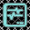 Ecg Pulse Heart Icon