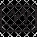 Ecg Machine Electrocardiograph Icon