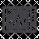 Ecg Machine Heartbeat Icon
