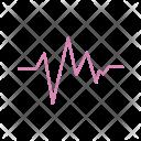 Ecg Heart Beat Icon