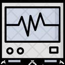 Ecg Machine Electrocardiograph Ecg Icon