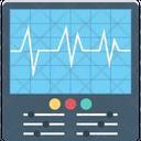 Ecg Machine Ecg Monitor Electrocardiogram Icon
