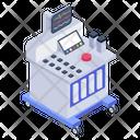 Ekg Machine Ecg Machine System Electrocardiogram Icon