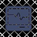 Ecg Monitor Monitor Technology Icon